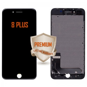 LCD Assembly For iPhone 8 Plus (Premium Quality) (Black)