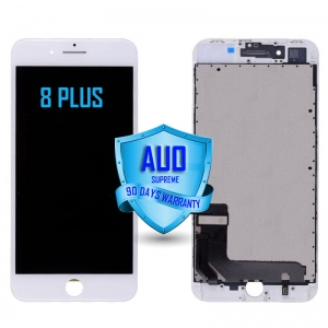 LCD Assembly For iPhone 8 Plus (Supreme Quality Aftermarket, Made by AUO) (White)