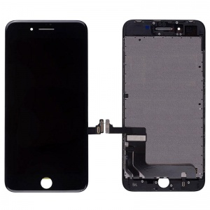 LCD Assembly (Supreme Quality Aftermarket, Made by AUO) (Black) For iPhone 8 Plus