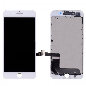 LCD Assembly (Premium Quality) (White) For iPhone 8 Plus