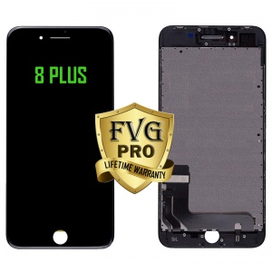 LCD Assembly For iPhone 8 Plus (Deluxe Quality Aftermarket, Made By FVG PRO) (Black)