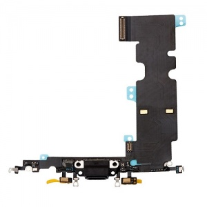 Charging Port Flex Cable For iPhone 8 Plus (Silver)