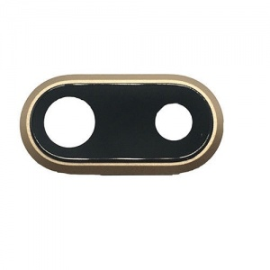 Back Camera Lens Bracket For iPhone 8 Plus (Gold)
