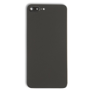 Back Glass Cover for iPhone 8 Plus - Black