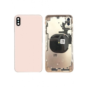 Back Housing W/ Small Components Pre-Installed for iPhone XS Max  (Gold)