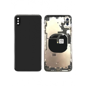 Back Housing W/ Small Components Pre-Installed for iPhone XS Max  (Space Grey)
