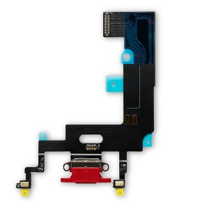 Charging Port Flex Cable For iPhone XR (Premium) (Red)