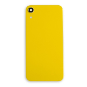 Back Glass Cover for iPhone XR - Yellow