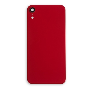 Back Glass Cover for iPhone XR - Red