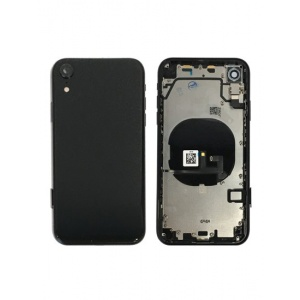 Back Housing W/ Small Components Pre-Installed for iPhone XR (Space Grey)