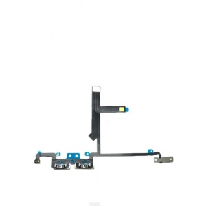 Volume Button Flex Cable with Metal Bracket For iPhone XS