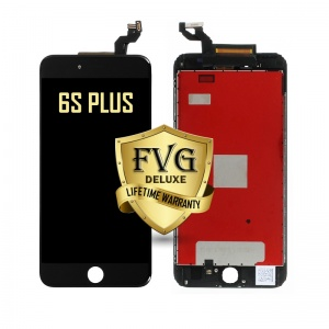 LCD Assembly For iPhone 6s Plus (Deluxe Quality Aftermarket, Made By FVG) (Black)