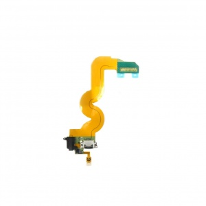 Charging Port/Home Button/Earphone Jack & Buzzer Flex Cable For iPod Touch 5 (Black)