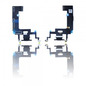 Charging Port Flex Cable For iPhone XR (Premium) (Black)