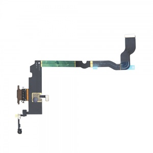 Charging Port Flex Cable For iPhone XS Max (Premium) (Gold)