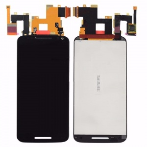 LCD & Touch Screen Digitizer with Frame (Black) For Motorola Moto X