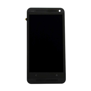 Display Assembly with Frame For HTC One (M7) (Black)