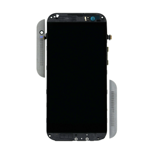 Display Assembly with Frame - Gray/Black For HTC One (M8)