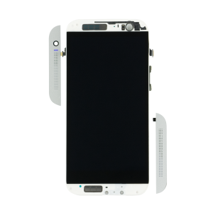 Display Assembly with Frame For HTC One (M8) (Silver)
