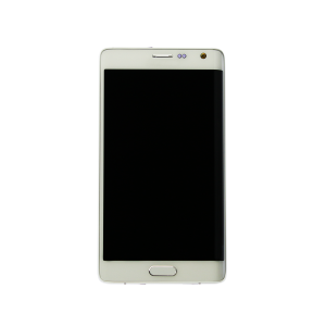 Display Assembly with Frame (White) For Samsung Galaxy Note Edge