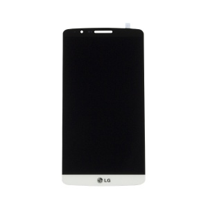 LCD with Touch Screen Digitizer (White) For LG G3