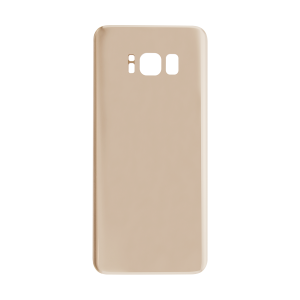 Back Glass For Samsung Galaxy S8 (Gold)