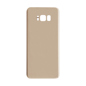 Back Glass For Samsung Galaxy S8 Plus (Gold)