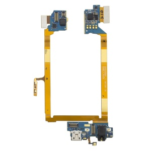 Dock Connector & Headphone Jack Assembly For LG G2 VS980
