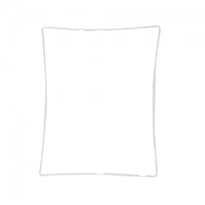 Touch Screen Bezel (White) For iPad 2nd, 3rd and 4th Gen