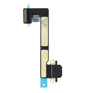Charging Port Flex Cable Replacement For iPad Mini 2 and Mini 3 (Black)
