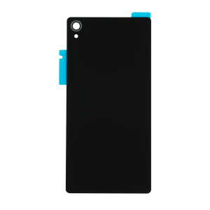 Rear Glass Panel (Black) For Sony Xperia Z3