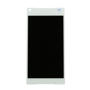 Compact Display Assembly (LCD and Touch Screen) (White) For Sony Xperia Z5