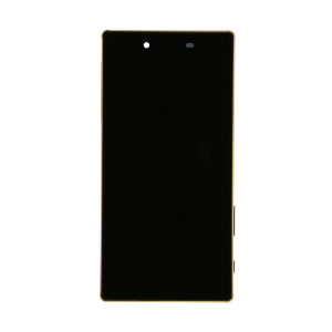 Display Assembly with Frame - Black/Gold For Sony Xperia Z5