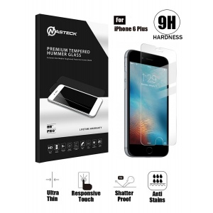 Tempered Glass For iPhone 6 Plus / 6s Plus in Retail Packaging - Clear