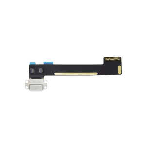 Charging port flex cable White For iPad Mini 4