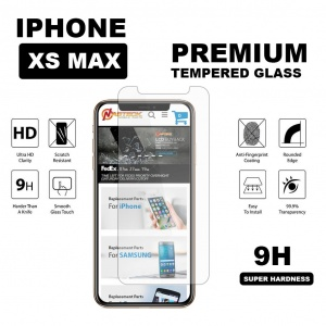 Tempered Glass for iPhone XS Max (6.5 inch) - Clear