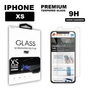 Tempered Glass for iPhone XS (5.8 inch) in Retail Package - Clear