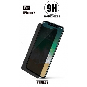 Tempered Glass - Privacy For iPhone X (5.8 inch)