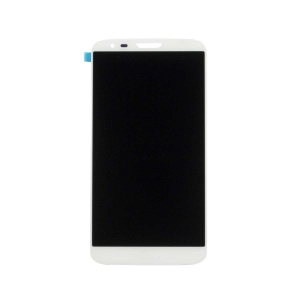 LCD with Touch Screen Digitizer (White) For LG G2
