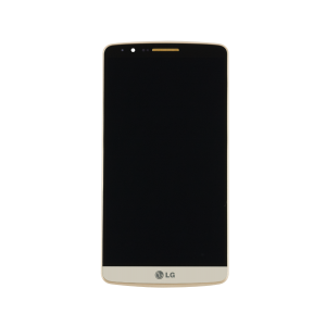 LCD with Touch Screen Digitizer (Gold) For LG G3