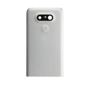 Rear Case with Power Button and Fingerprint Reader For LG G5 (Silver)