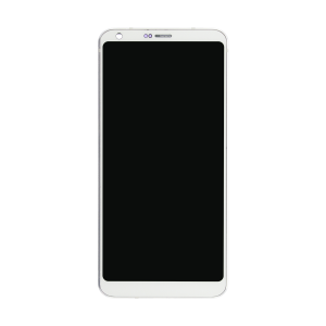 LCD Screen and Digitizer with Frame (White) For LG G6
