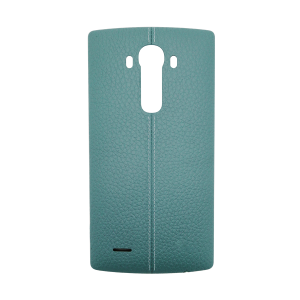 Genuine Leather Rear Battery Cover with NFC Antenna For LG G4 (Blue)