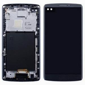 Display Assembly with Frame and Small Parts For LG V10 (Space Black)