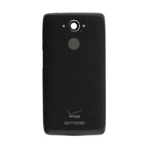 Standard Battery Door (Black) Ballistic Nylon For Motorola Droid Turbo