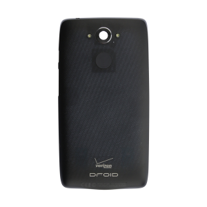 Standard Battery Door - Metallic Black For Motorola Droid Turbo