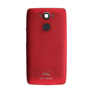 Standard Battery Door - Metallic Red For Motorola Droid Turbo