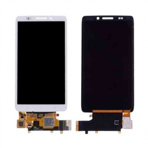 Display Assembly with Frame For Motorola Droid Maxx XT1080M - White