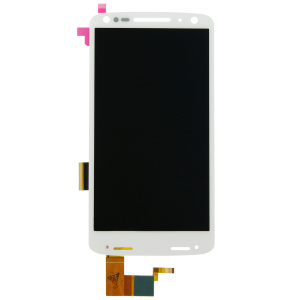 LCD and Front Panel/Digitizer (White) For Motorola Droid Turbo 2