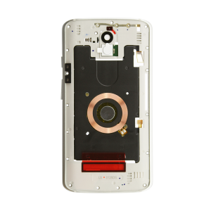 Midframe Assembly - White/Silver For Motorola Droid Turbo 2